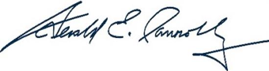 Gerry Connolly Signature